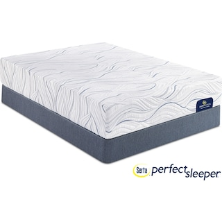 Caledonian Plush Full Mattress and Foundation Set