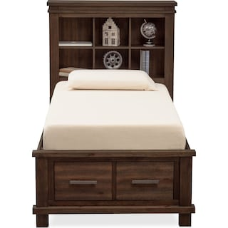 Tribeca Youth Bookcase Bed with 1 Underbed Drawer
