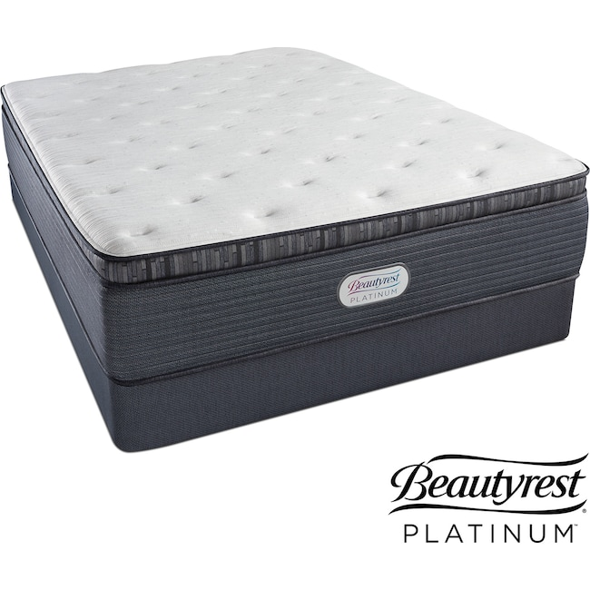 Mattresses and Bedding - Creekmore Lane Luxury Firm Pillowtop King Mattress and Split Foundation Set