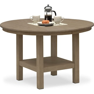 Tribeca Round Dining Table - Gray