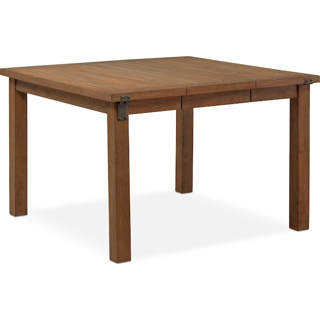 dinette dining htm boone craftsman sauder height table mountain counter l in oak