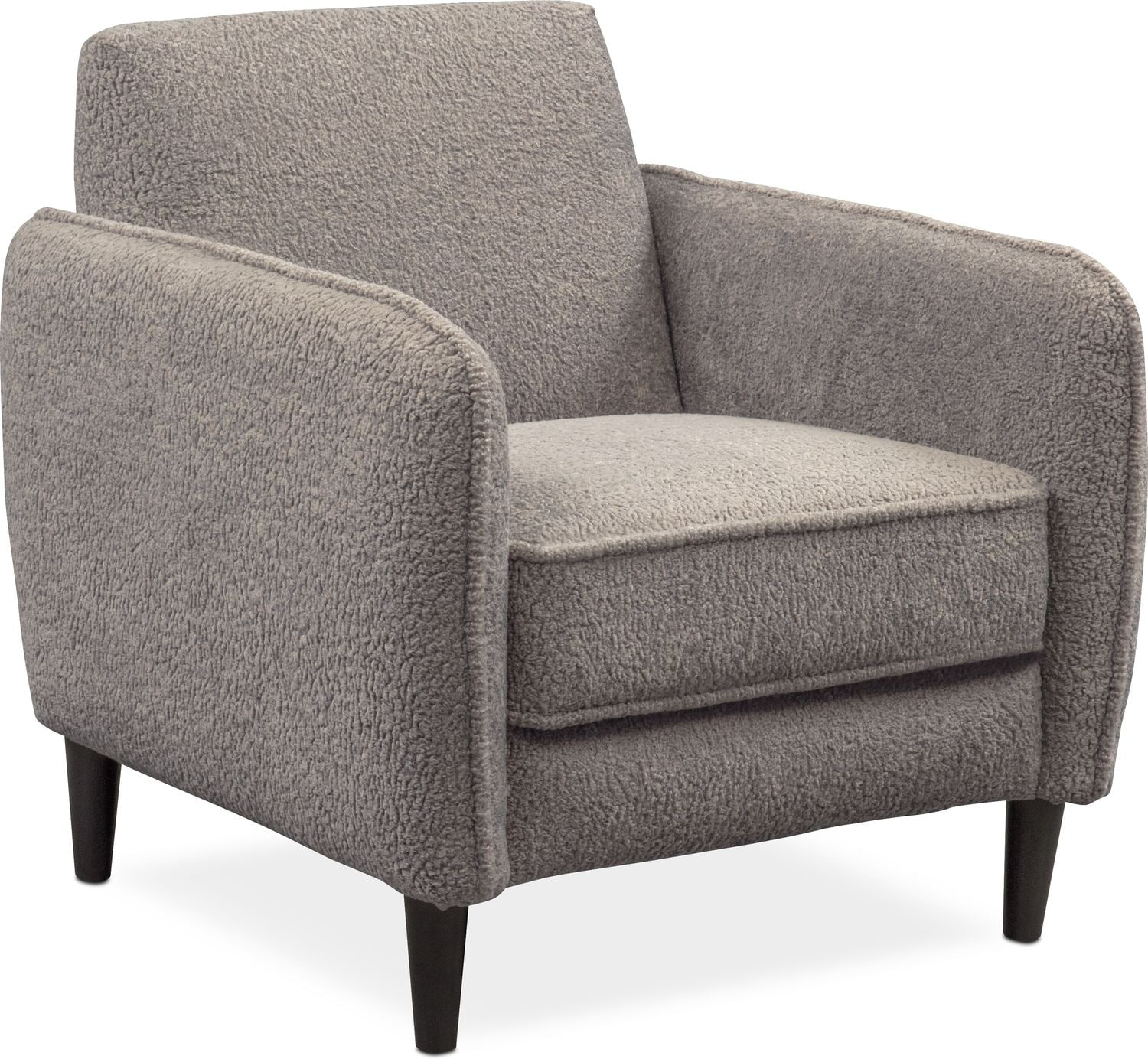 Terry Accent Chair Gray Value City Furniture And