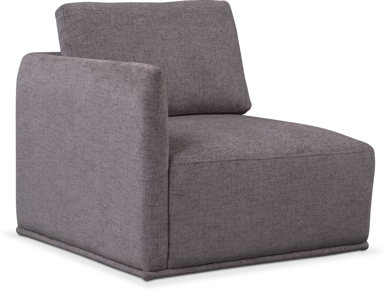 Living Room Furniture - Rio Corner Chair - Gray