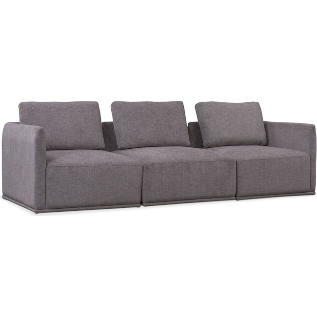 Rio 3-Piece Sectional - Gray