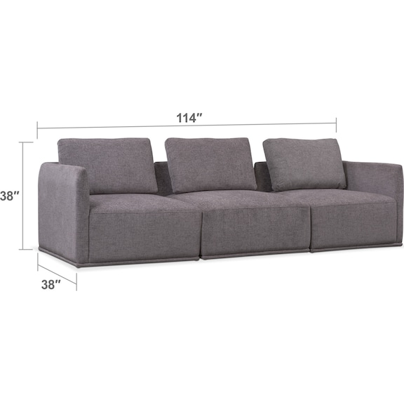 Living Room Furniture - Rio 3-Piece Sectional