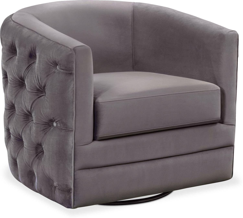 Living Room Furniture - Chloe Swivel Chair