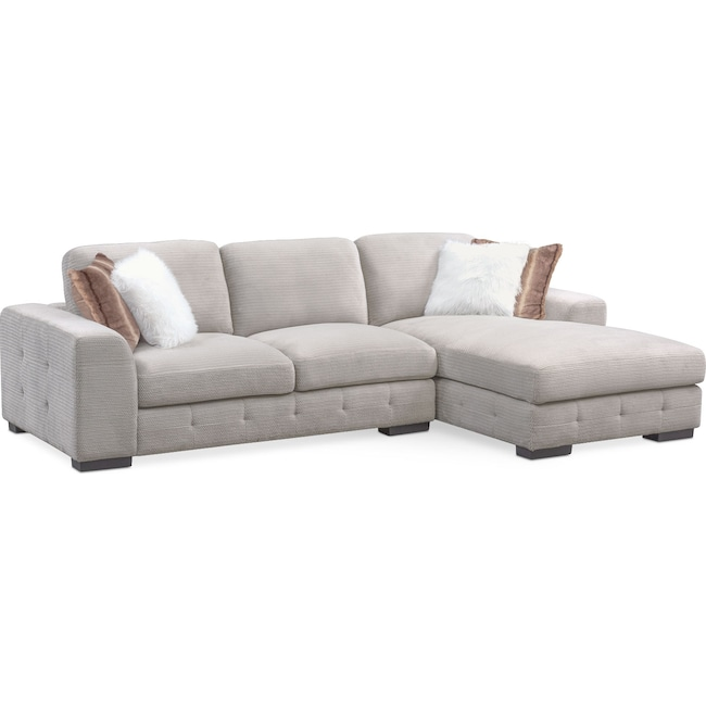 Cool Terry 2 Piece Sectional With Chaise Ibusinesslaw Wood Chair Design Ideas Ibusinesslaworg