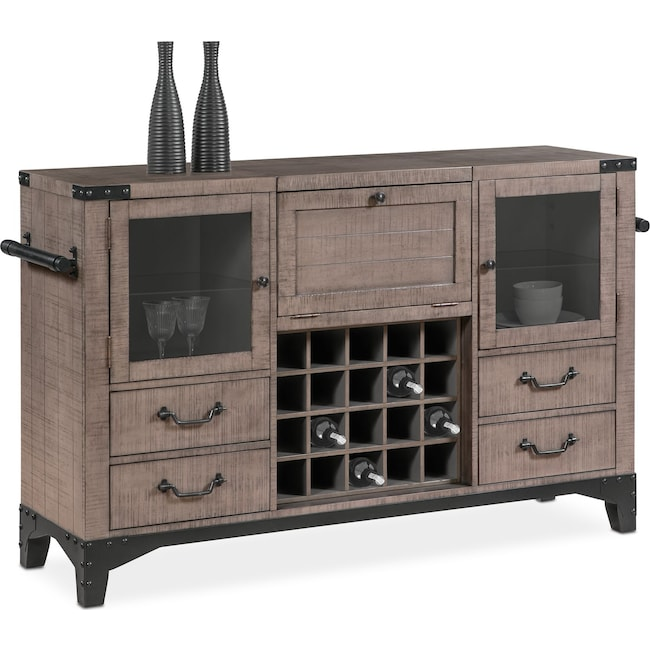 Dining Room Furniture Newcastle Sideboard Gray