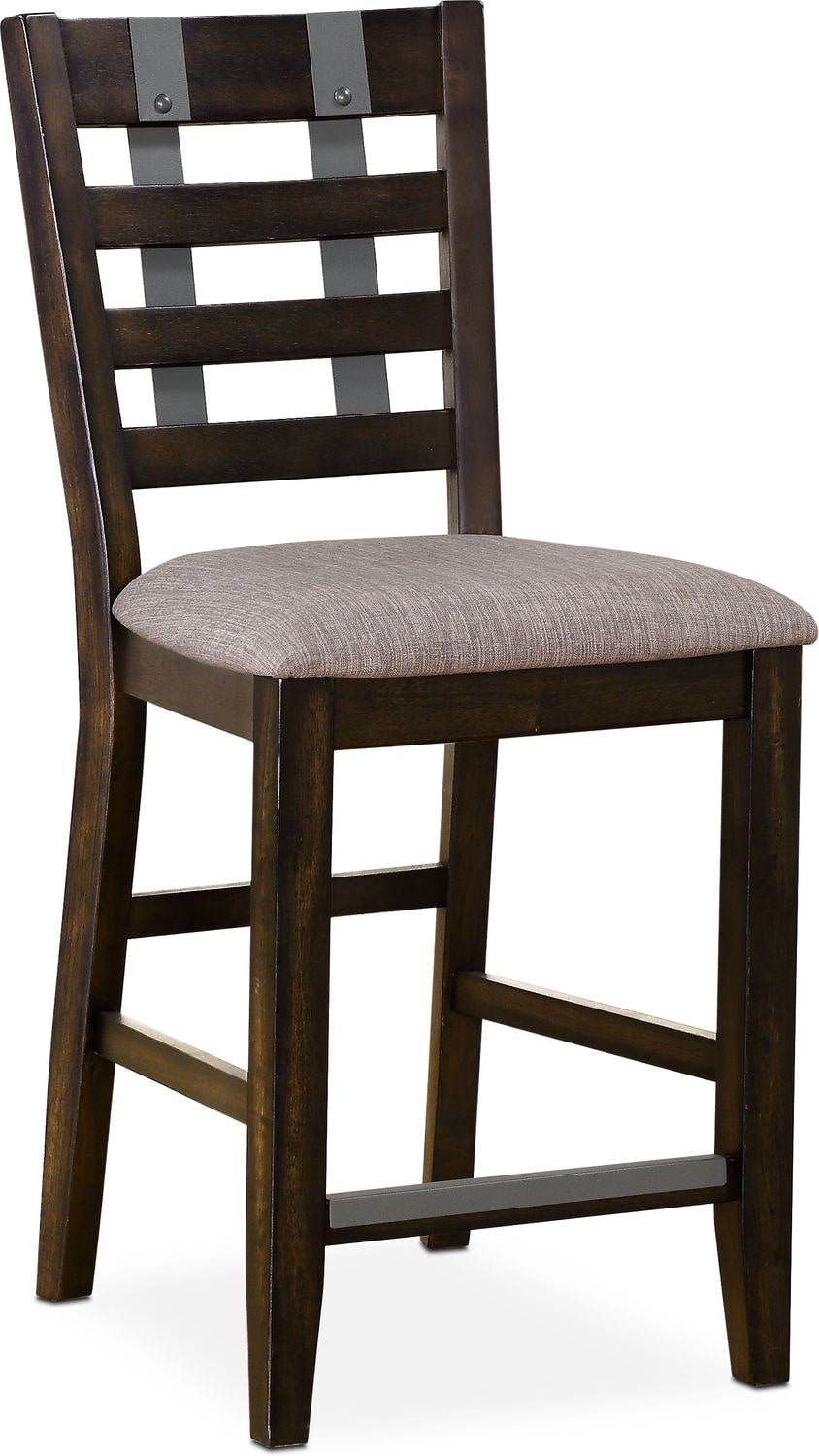 Delightful Hampton Counter Height Stool   Cocoa