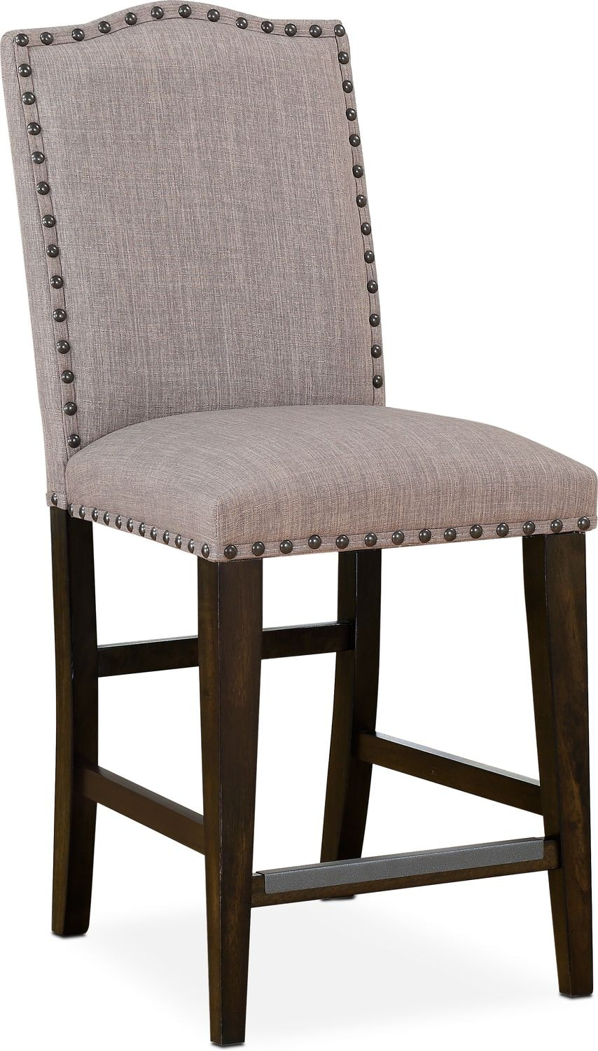 Dining Room Furniture - Hampton Counter-Height Upholstered Stool