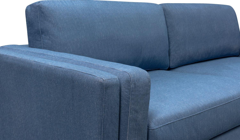 West End 96 Quot Sofa Blue Value City Furniture And Mattresses