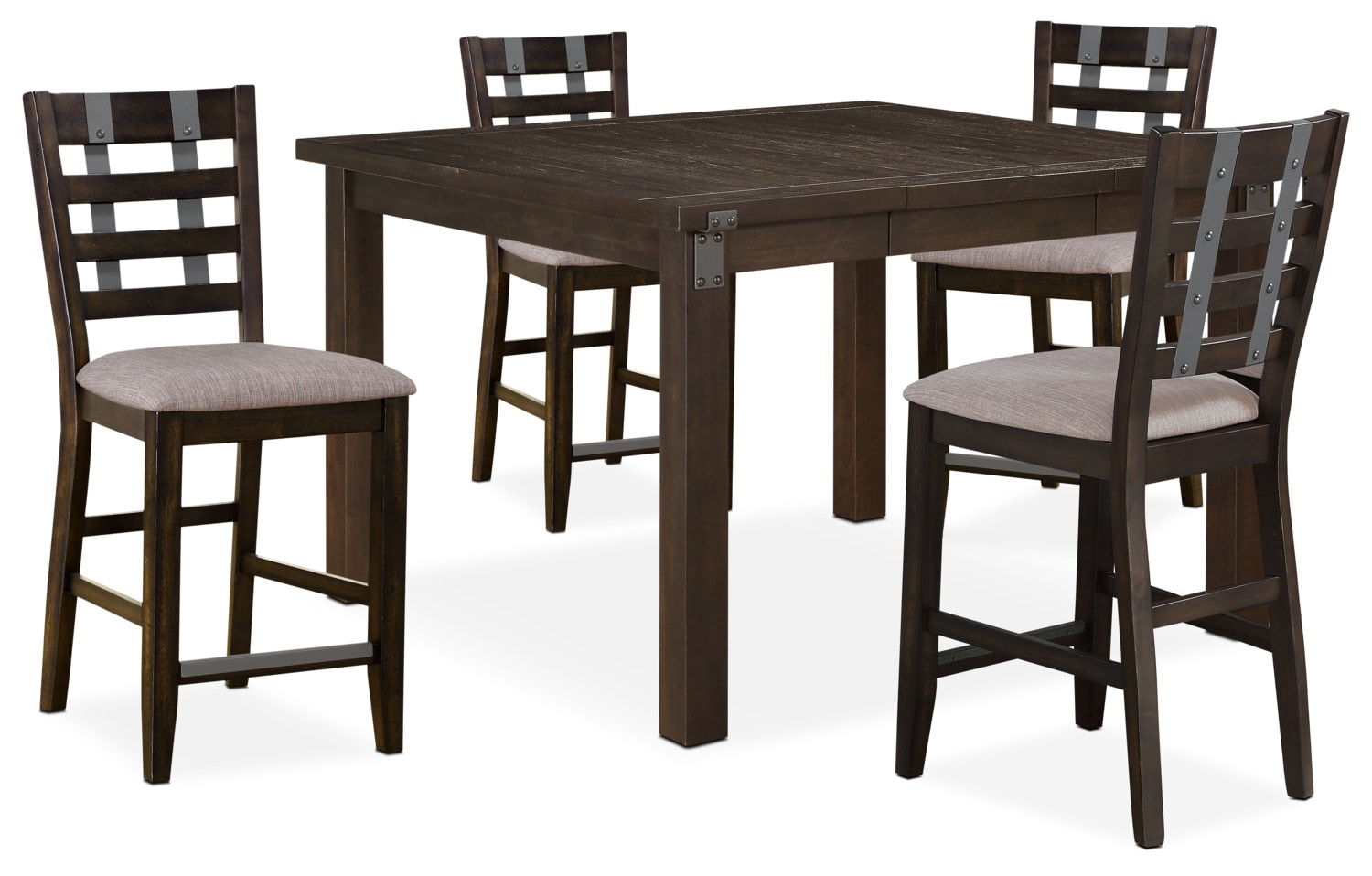 Dining Room Furniture Hampton Counter Height Table And 4 Stools
