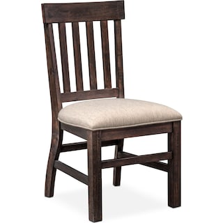 charthouse side chair charcoal - Chairs Dining Room