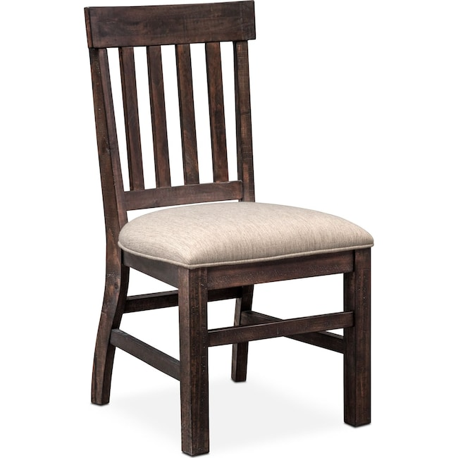 Dining Room Furniture - Charthouse Side Chair - Charcoal