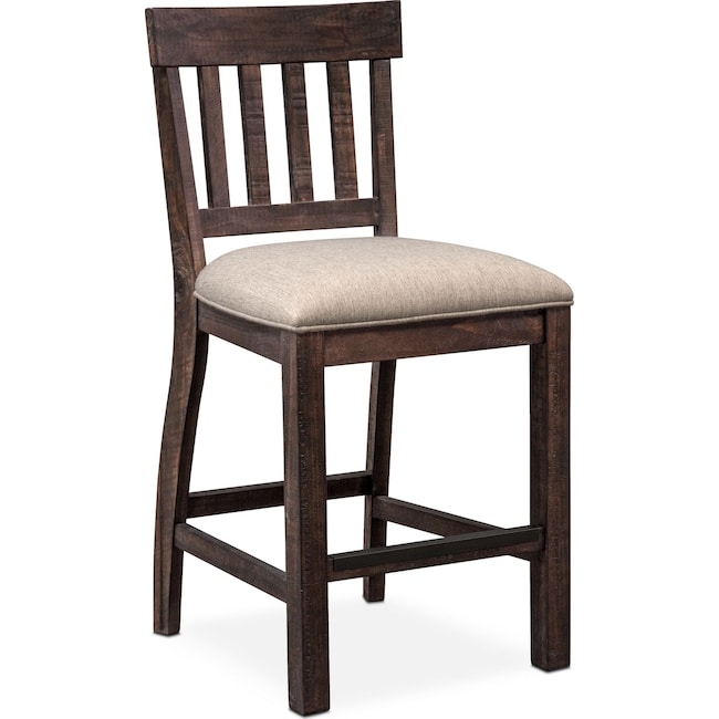 Dining Room Furniture - Charthouse Counter-Height Stool - Charcoal