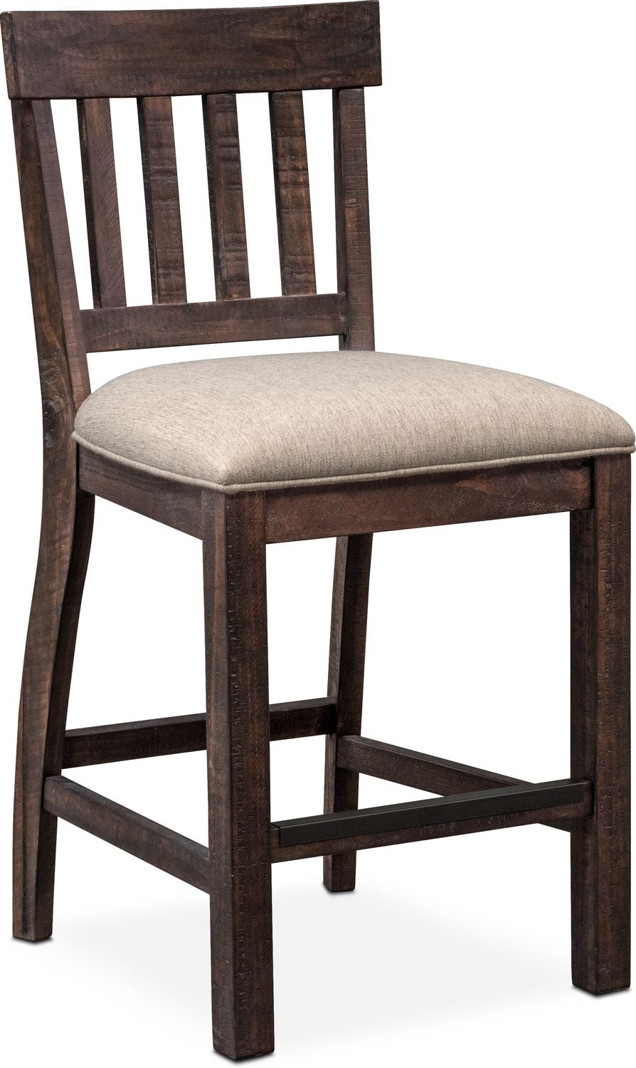 Dining Room Furniture   Charthouse Counter Height Stool   Charcoal