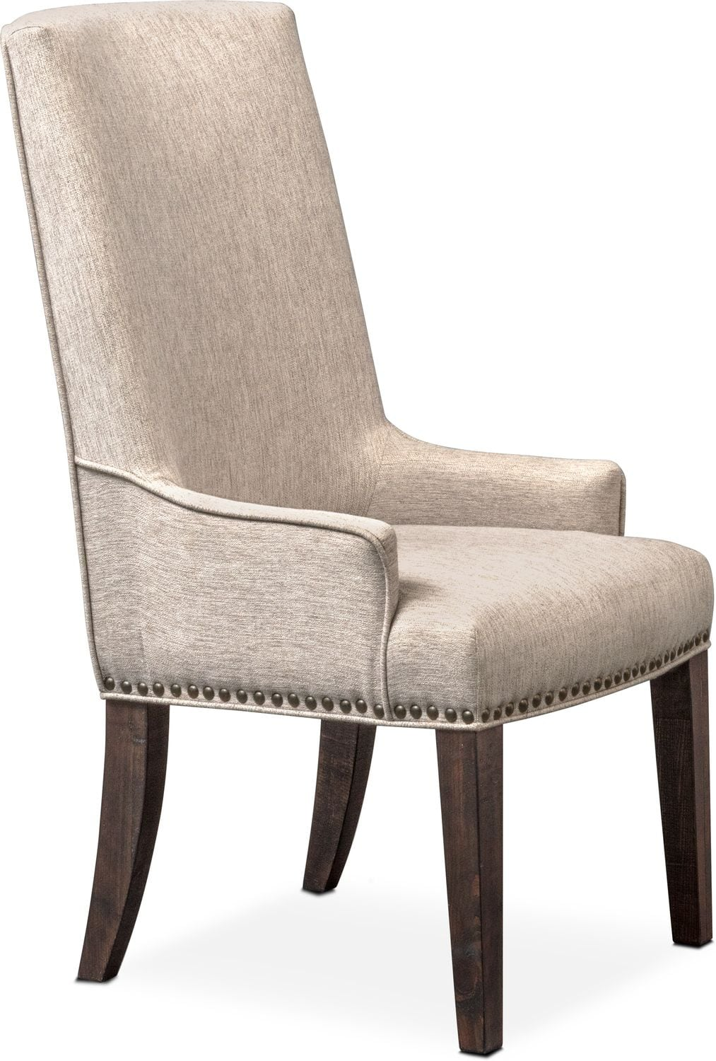 Charthouse Host Chair   Charcoal ...