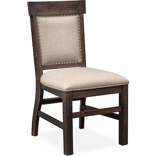 Charthouse Upholstered Side Chair Charcoal