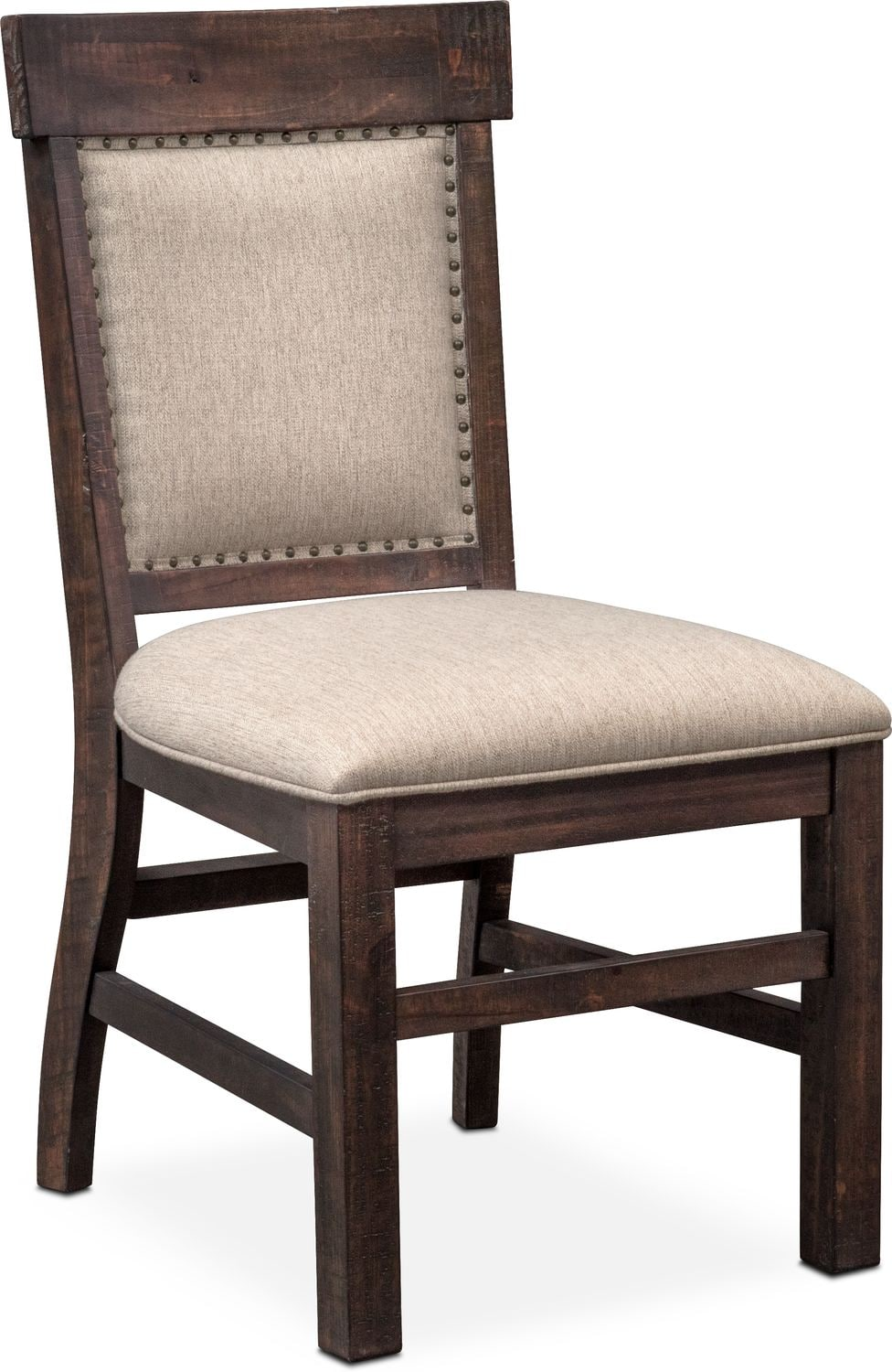 Charthouse Upholstered Side Chair   Charcoal ...