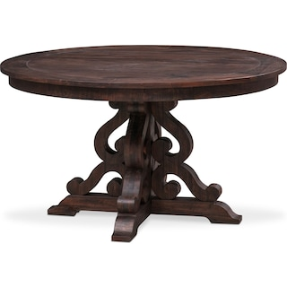 Shop All Dining Room Tables Value City Furniture Value City - 50 inch round pedestal table