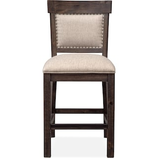 Charthouse Counter-Height Upholstered Stool