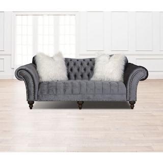 Brittney Sofa - Charcoal