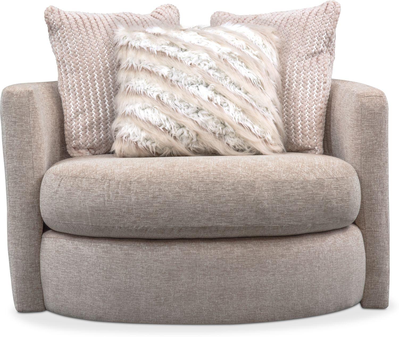 Strange Allure Swivel Chair Beige Bralicious Painted Fabric Chair Ideas Braliciousco