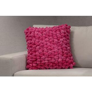 Plush Decorative Pillow - Pink