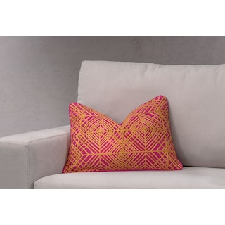Trela Decorative Pillow - Fuchsia