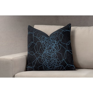 Dimensions Decorative Pillow - Blue