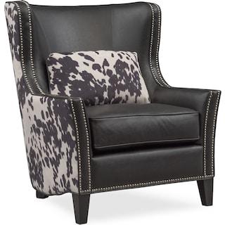 Santa Fe Accent Chair - Cowhide