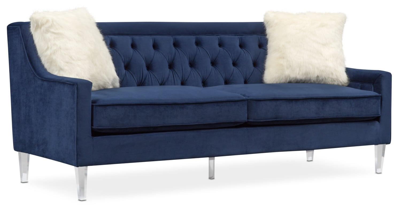 Merveilleux Living Room Furniture   Chloe Sofa   Blue