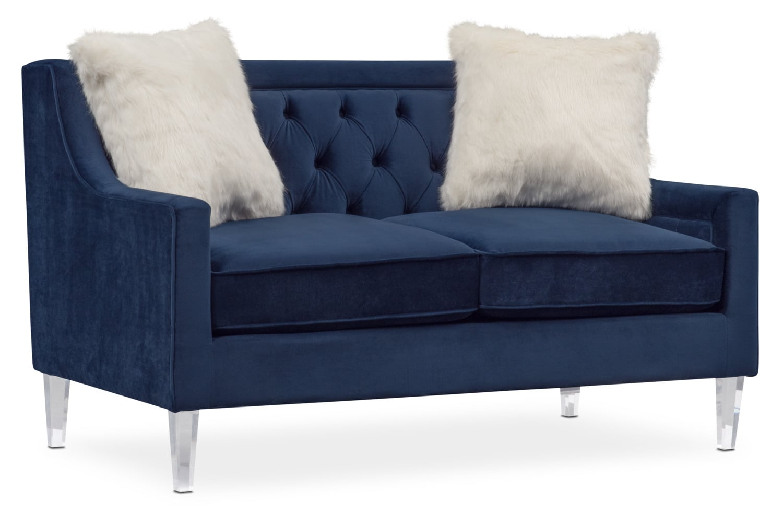 Living Room Furniture - Chloe Loveseat
