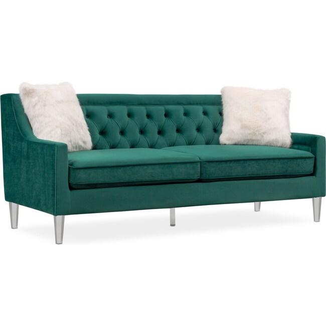 Emerald Sofa Green Velvet Wayfair TheSofa