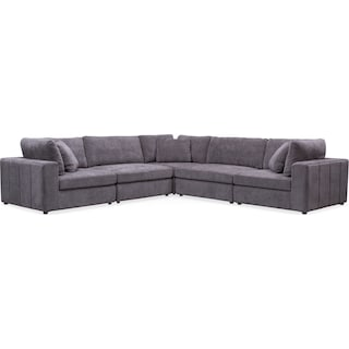 Chill 5-Piece Sectional - Gray