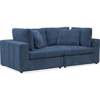 Chill 2-Piece Sofa - Sapphire