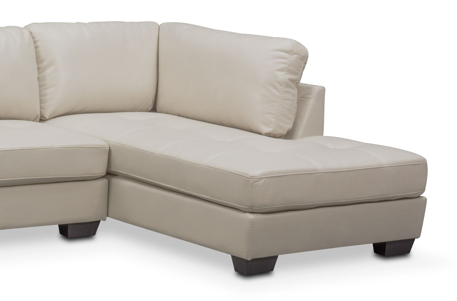 Santana 2 Piece Sectional With Right Facing Chaise And