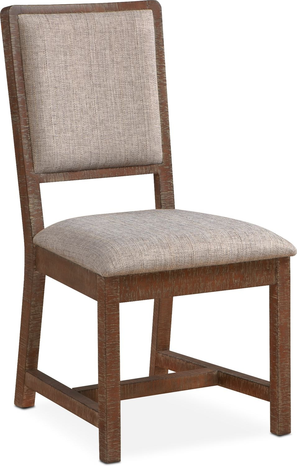 Gristmill Upholstered Side Chair   Cocoa