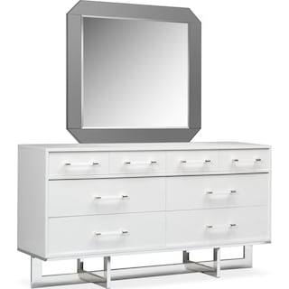 Concerto Dresser and Mirror