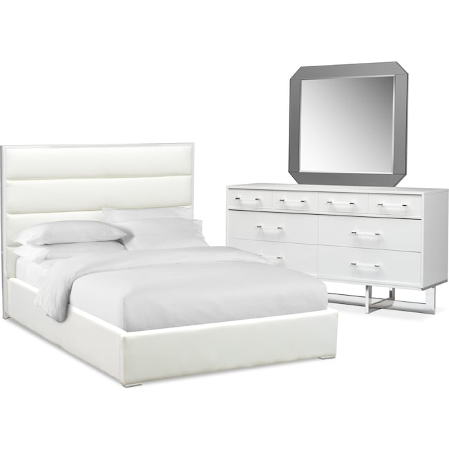 Concerto 5 Piece Bedroom Set With Dresser And Mirror Value City