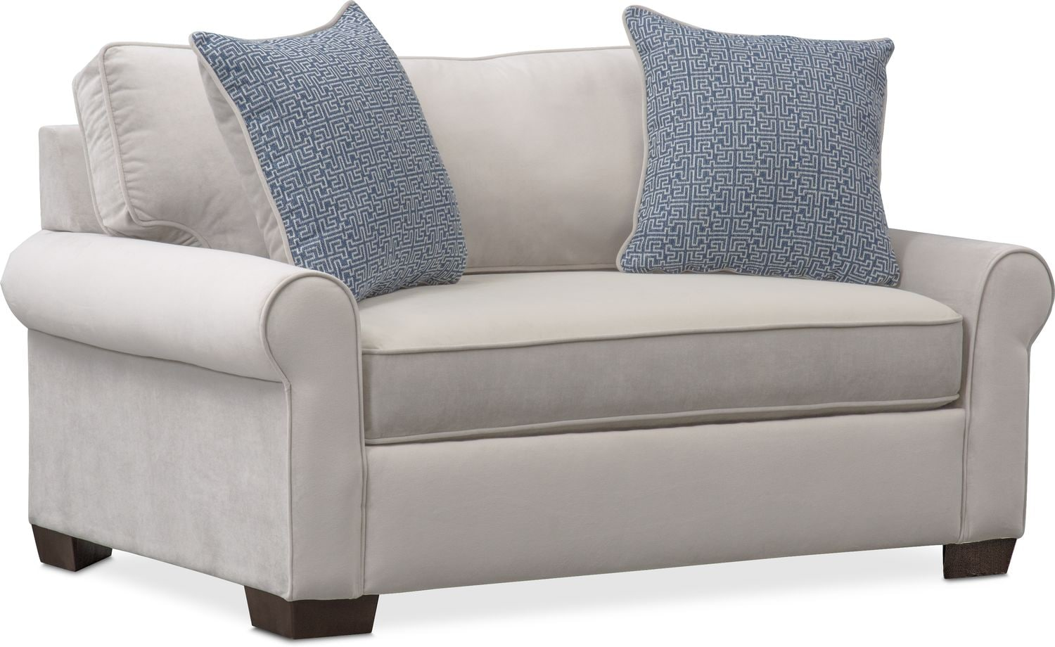 Superieur Living Room Furniture   Blake Twin Memory Foam Sleeper Chair And A Half    Gray