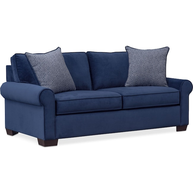 Living Room Furniture - Blake Loveseat - Indigo