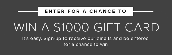 enter to win a 4,0000 gift card