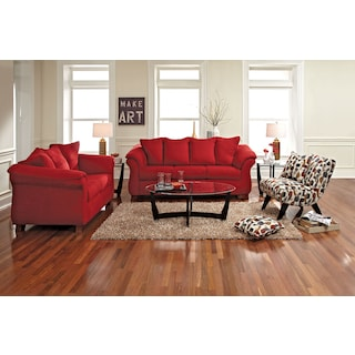 The Adrian Collection - Red