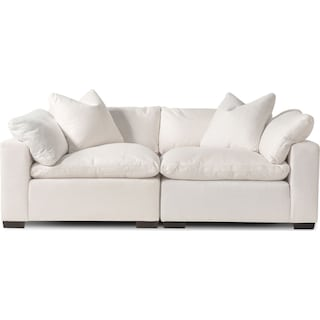 Plush 2-Piece Sectional - Anders Ivory