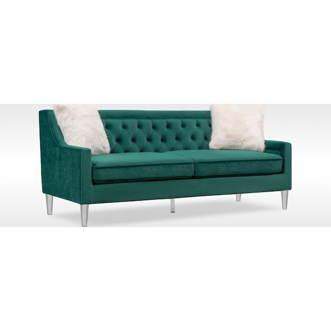 Emerald Sofa Emerald Green Sofa Wayfair Thesofa
