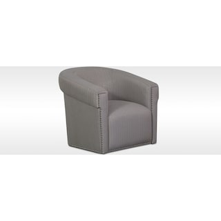 Talia Swivel Chair Metallic
