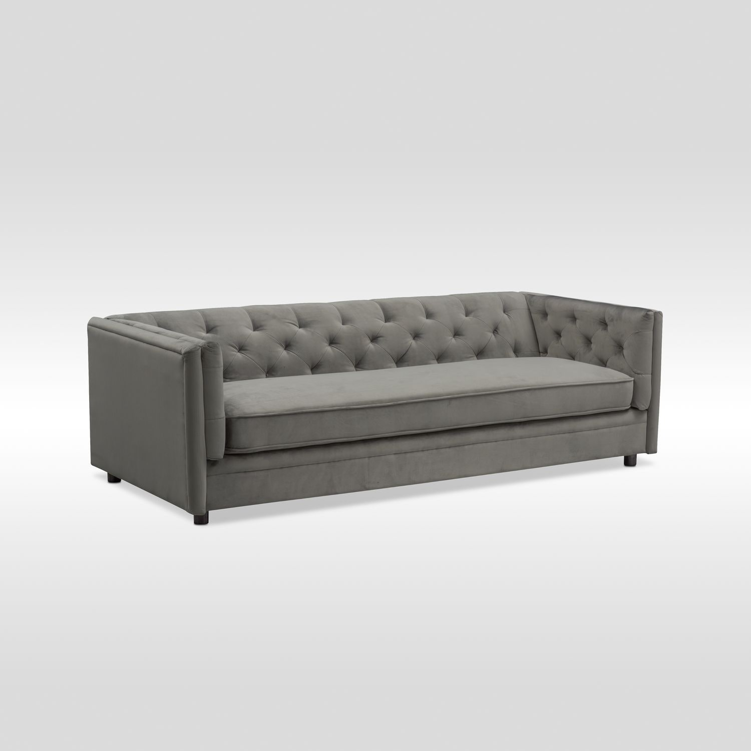 Gabe Sofa - Flannel | Value City Furniture and Mattresses