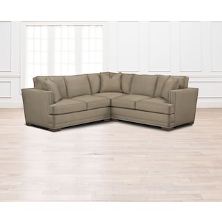 Arden Comfort 2-Piece Sectional with Right-Facing Loveseat - Stately L Mondo