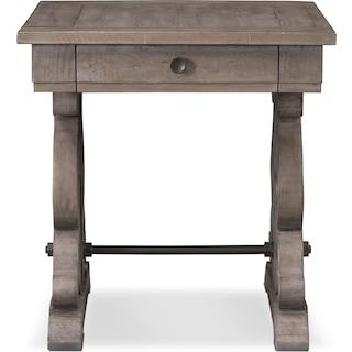 Charthouse End Table - Gray